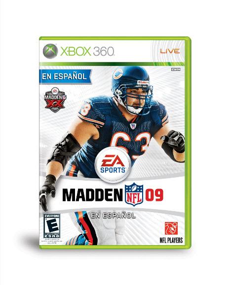 Madden NFL 09 En Español - Roberto Garza