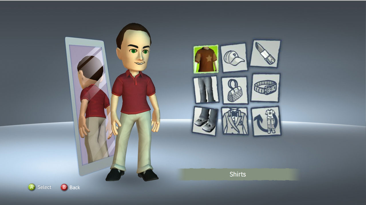 xbox one how to change your avater outfit