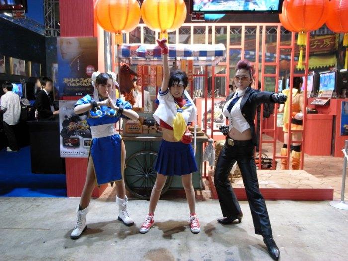 Chun-Li, Sakura & Viper
