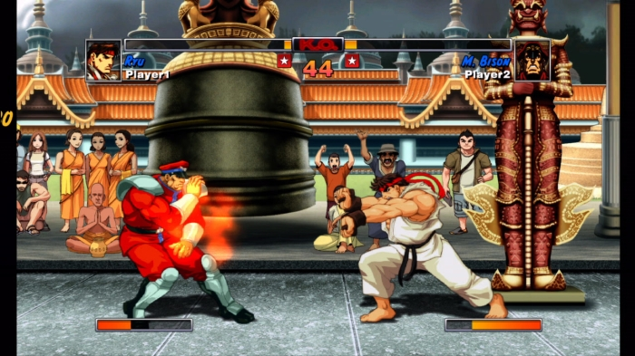 M. Bison vs. Ryu