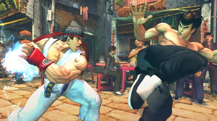 Ryu vs. Fei Long