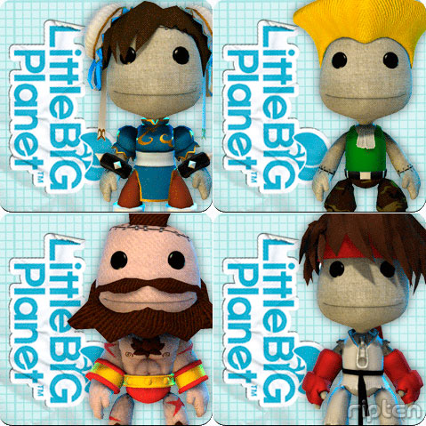 Street Fighter IV characters in LittleBigPlanet