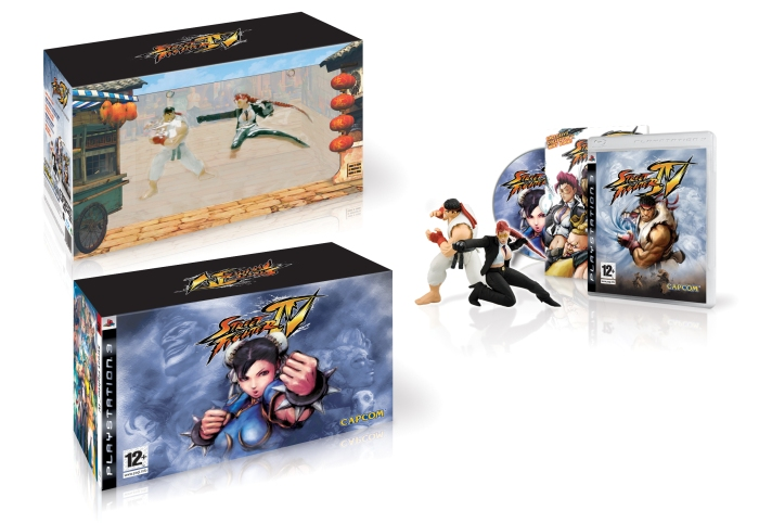 The SF4 PlayStation 3 Collector's edition box.