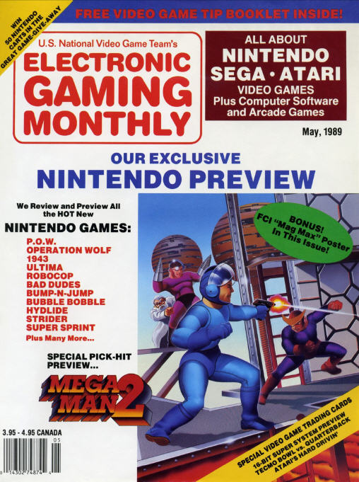 Electronic Gaming Monthly - First Issue - May 1989
