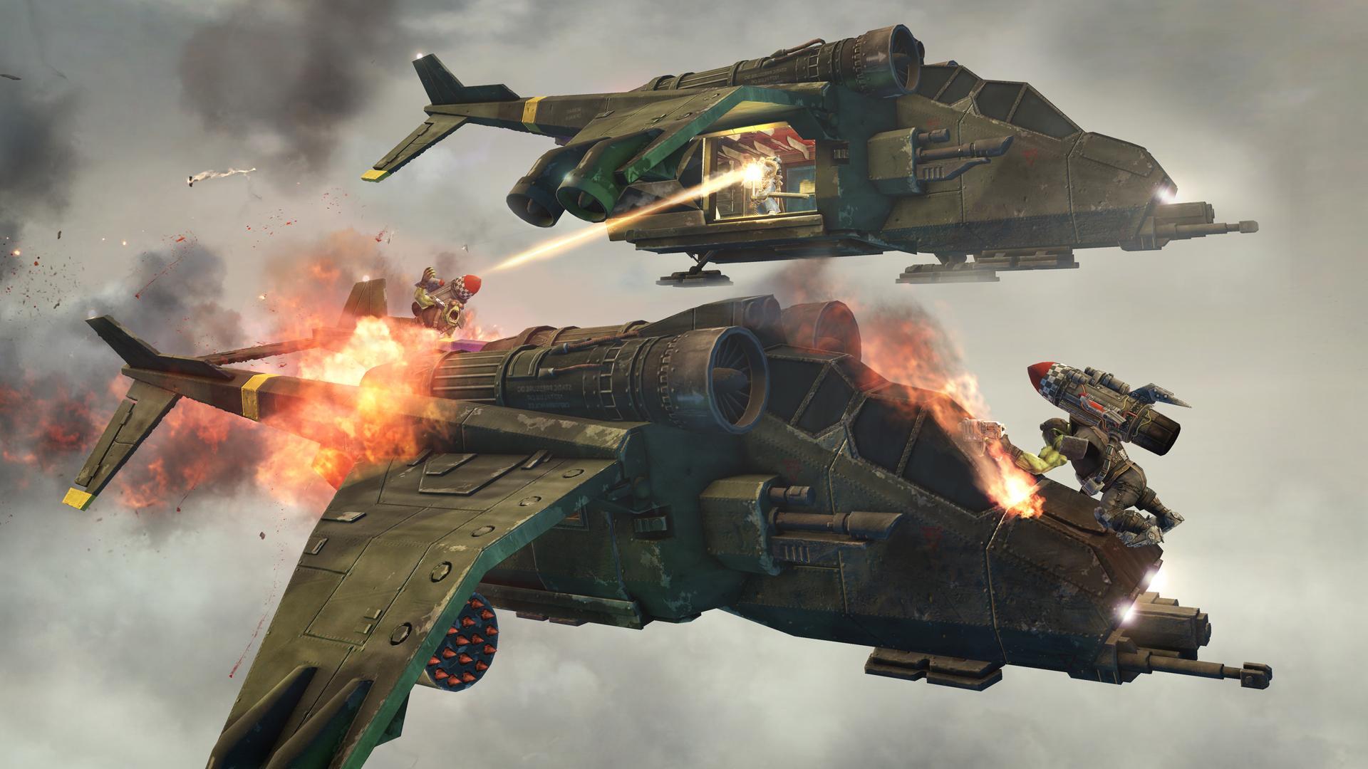 Warhammer 40 000: Space Marine. Кровавый ураган