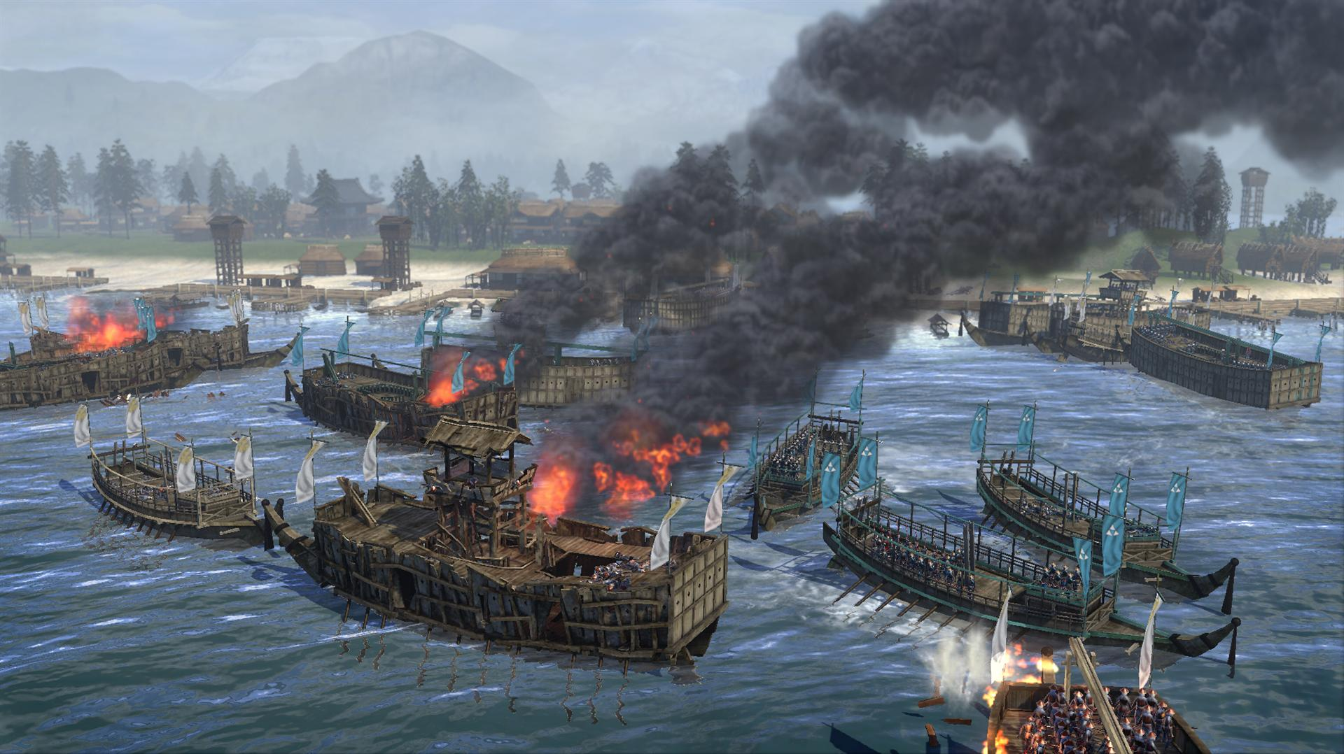 """Total War: Shogun 2"" - Naval Battle 7"