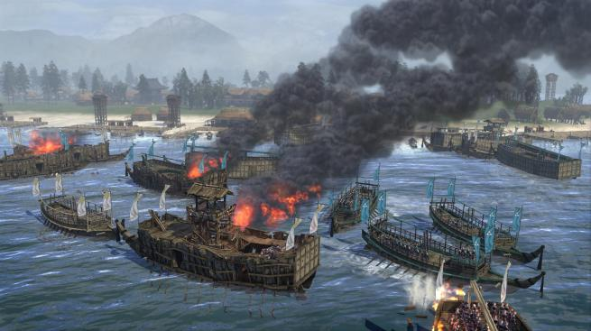 """Total War: Shogun 2"" - Naval Battle 7"