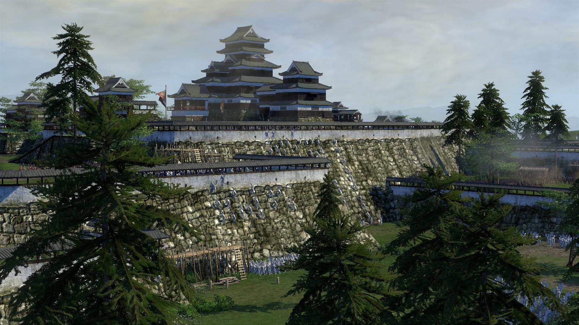 """Total War: Shogun 2"" - Attack The Walls"