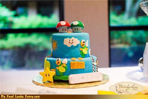 Super Nice Looking Mario Bros. Cake