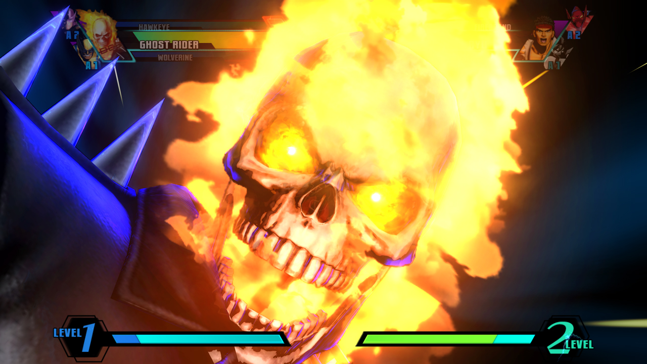 frog eyes game ghost rider