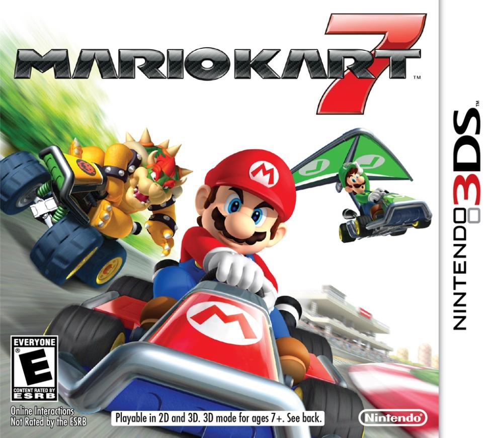 """Mario Kart 7"" - Cover Art"