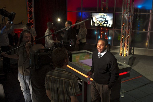 Dh bcs shoot in full sail university sports lab powered by espn 3