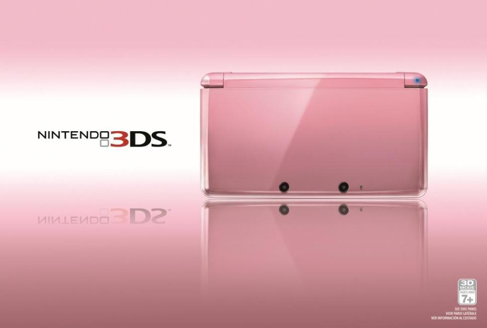Nintendo 3DS: Pearl Pink