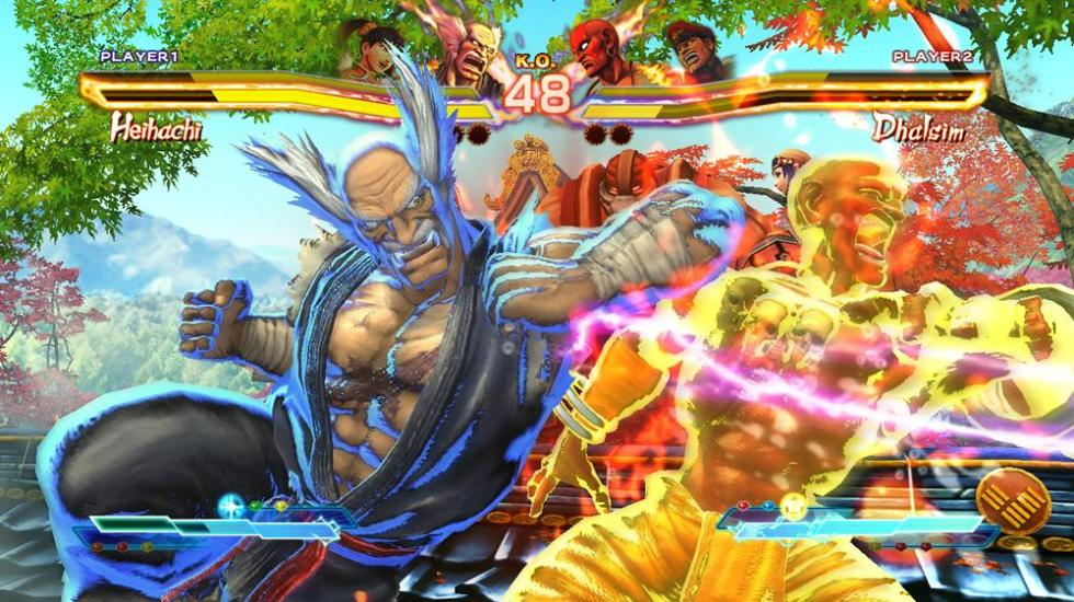 """Street Fighter x Tekken"" - M. Bison & Ling Xiaoyu"