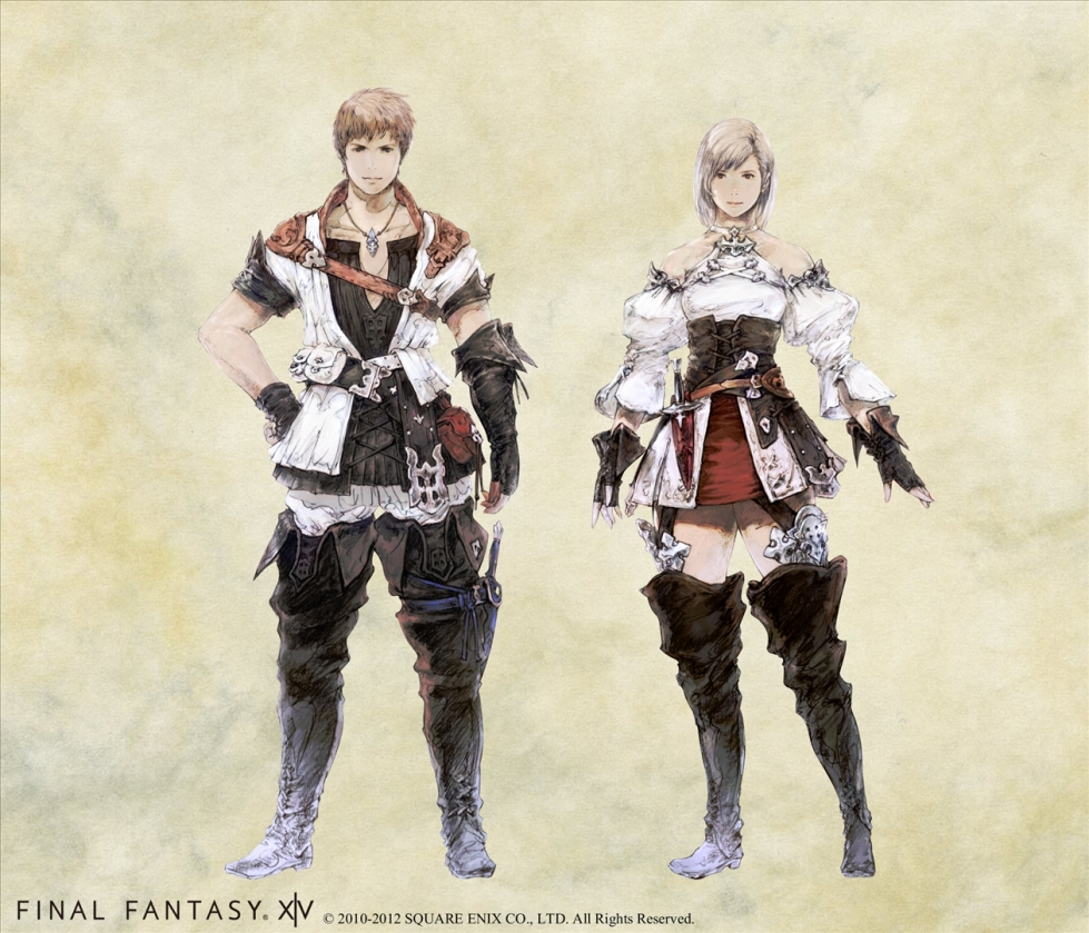 "Square Enix: ""Final Fantasy XIV (v.2.0)"" - Hyur Race"