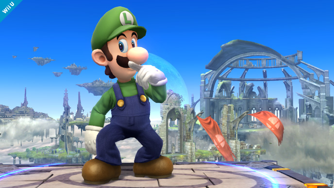 Super Smash Bros. for Wii U - Luigi