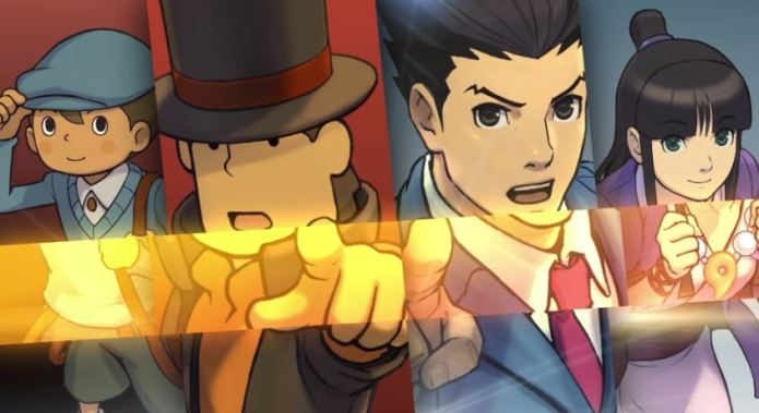 """Professor Layton Vs Phoenix Wright: Ace Attorney"""