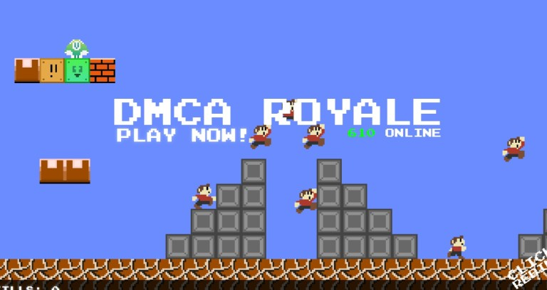 Dmca: Mario Royale Is Now Known As DMCA Royale